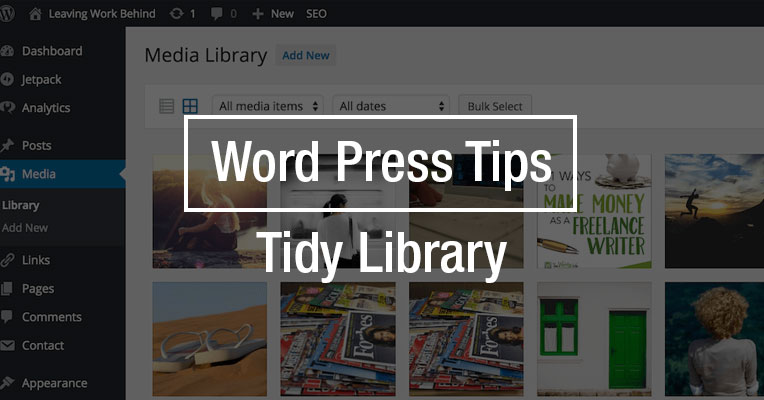 Word Press Tips – Tidy Library